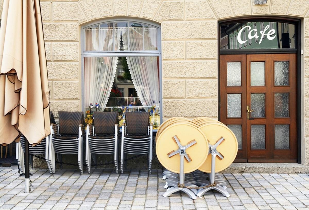 Cafetería afectada por Covid